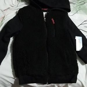 6 /7 Hooded sweatshirt New